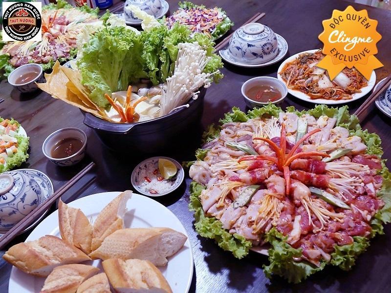 Clingme - Ưu đãi 10% Thịt nướng Gang Won