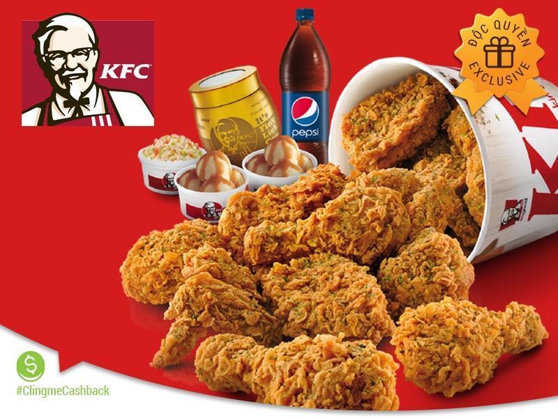 Clingme - Ưu đãi 20% tại KFC