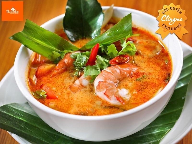 Clingme - Hoàn tiền 15% Nhà hàng Thái Plus