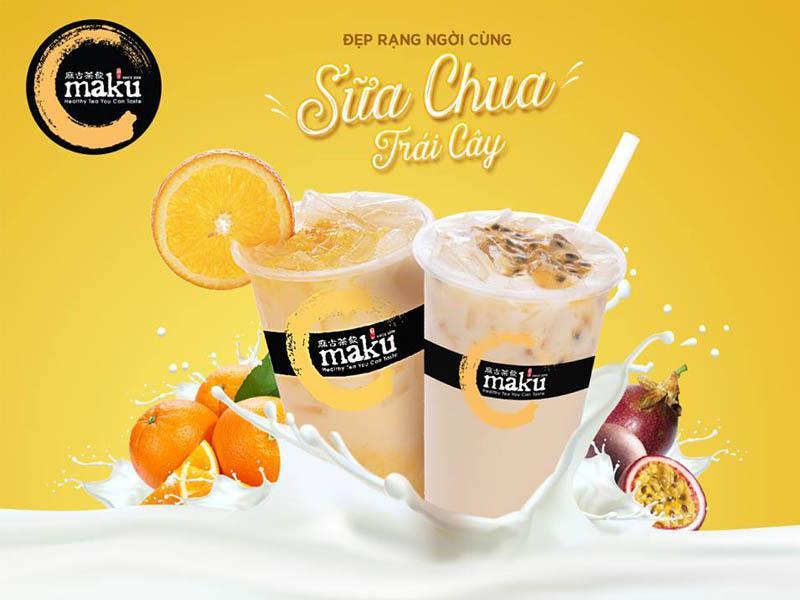 MAKU- trà sữa tốt cho sức khỏe