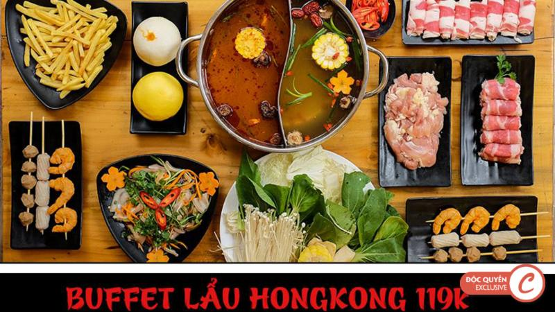 Clingme - Ưu đãi tại Yixin - Lẩu HongKong