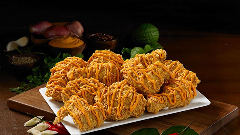 Clingme - Đậm đà hương vị gà Popeyes phủ phô mai cay