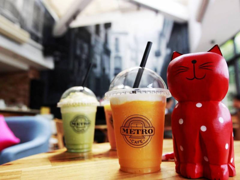 BH Liberty Tặng 20% Metro café