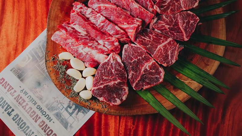 Ưu đãi Bò nướng tảng - Big Beef
