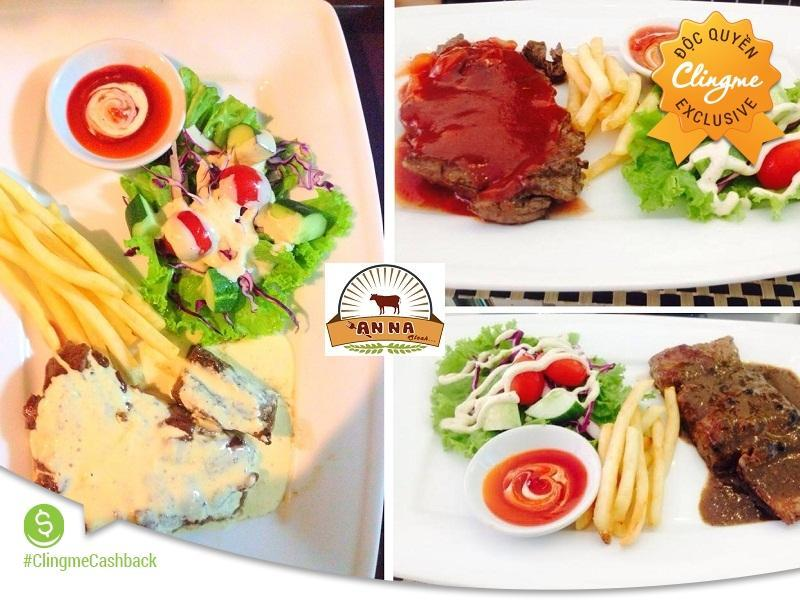 BH Liberty Tặng 15% Steak ANNA