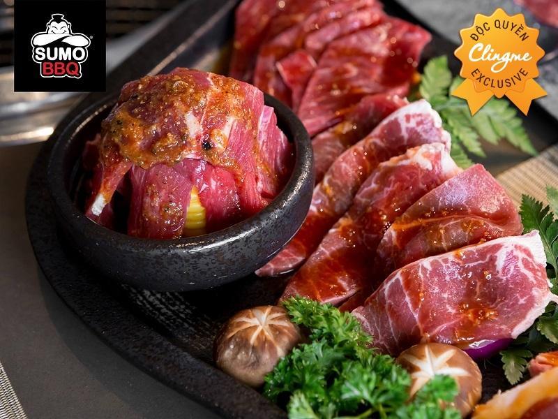 Clingme - Ưu đãi 100K Nhà hàng Sumo BBQ