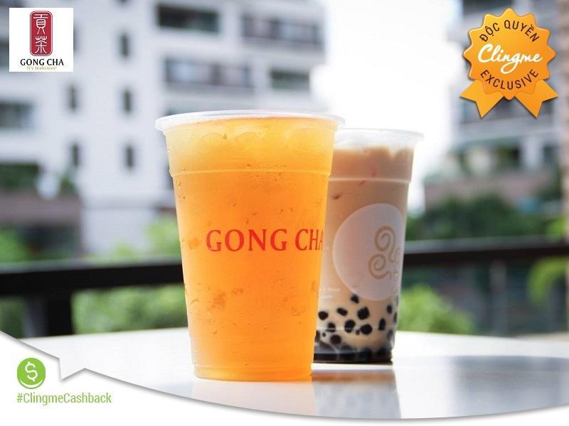 Clingme - Ưu đãi 30% tại Trà sữa Gong Cha