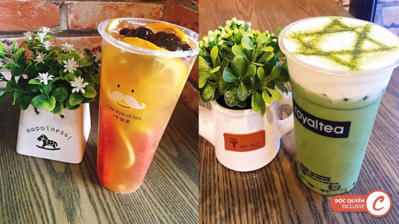 Clingme - Ưu đãi 20% Royal Tea Đào Tấn