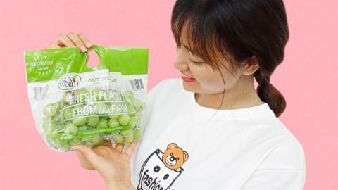Siêu ưu đãi nho xanh không hạt Úc tại Klever Fruits