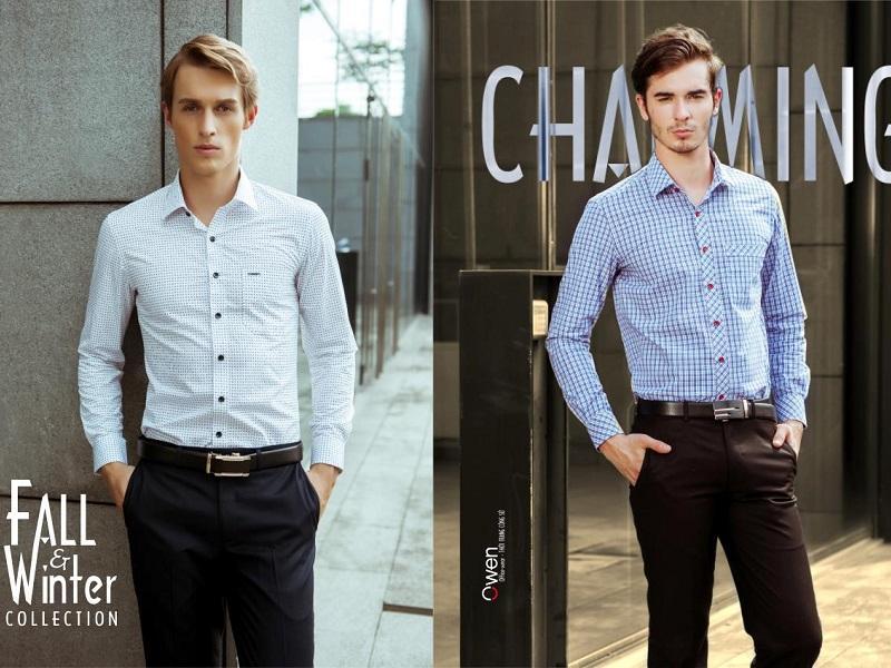 Thời trang nam lịch lãm Owen